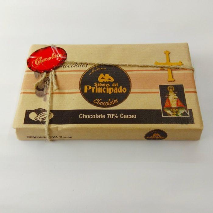 Chocolate asturiano 70 Cacao