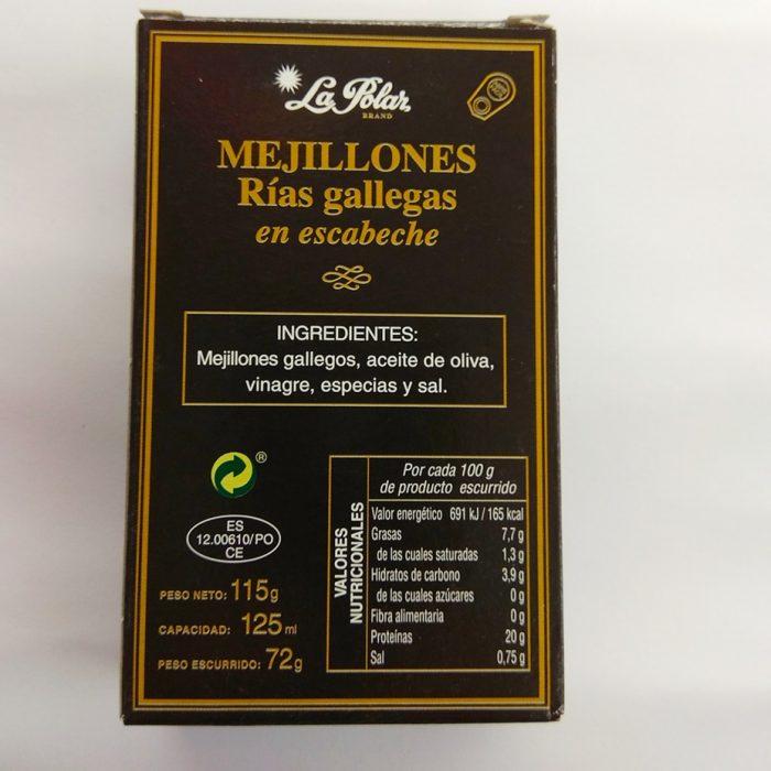 Mejillones Rias gallegas