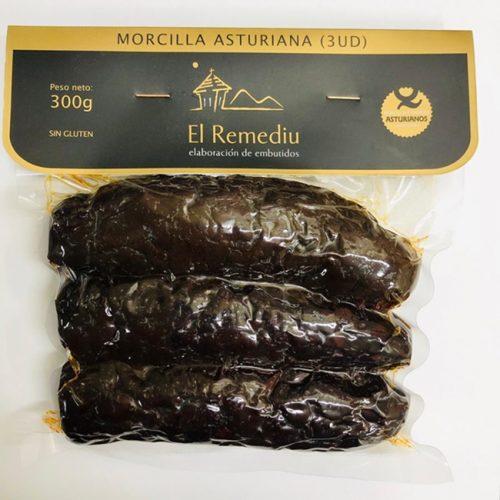 Morcillas asturianas
