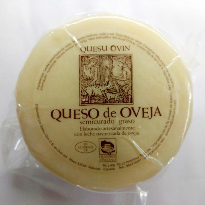 Queso asturiano Ovín Oveja