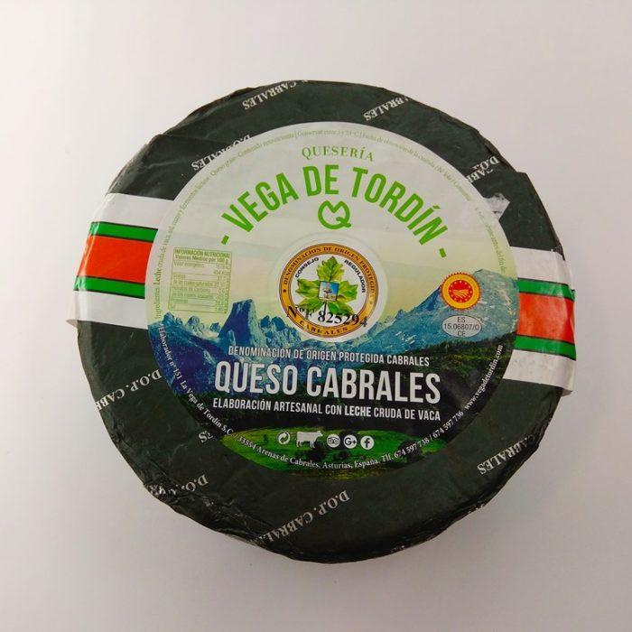 Queso Cabrales Vega Tordín