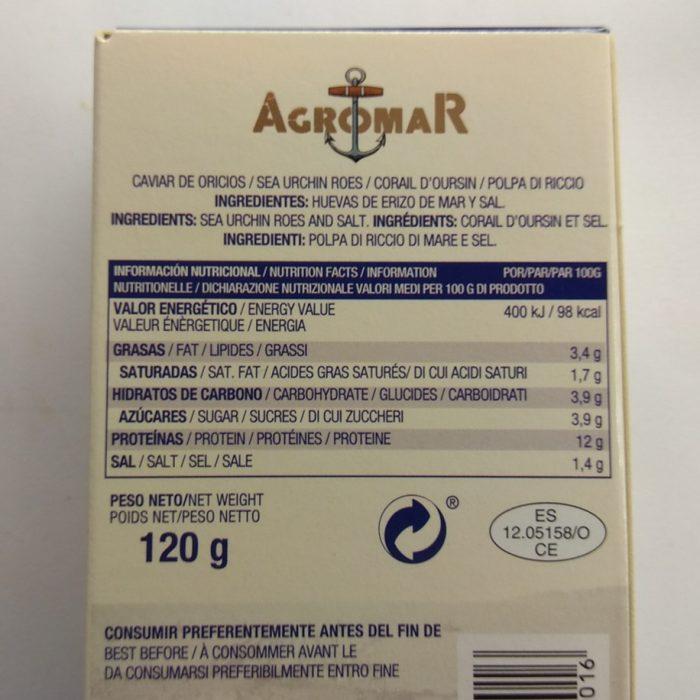 Caviar de Erizos de Mar