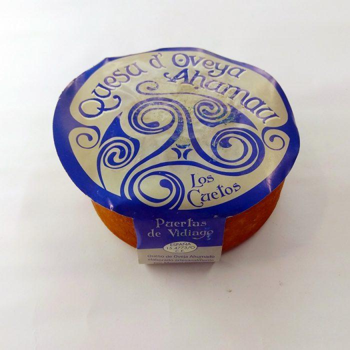 Queso Asturiano de Oveja Ahumado