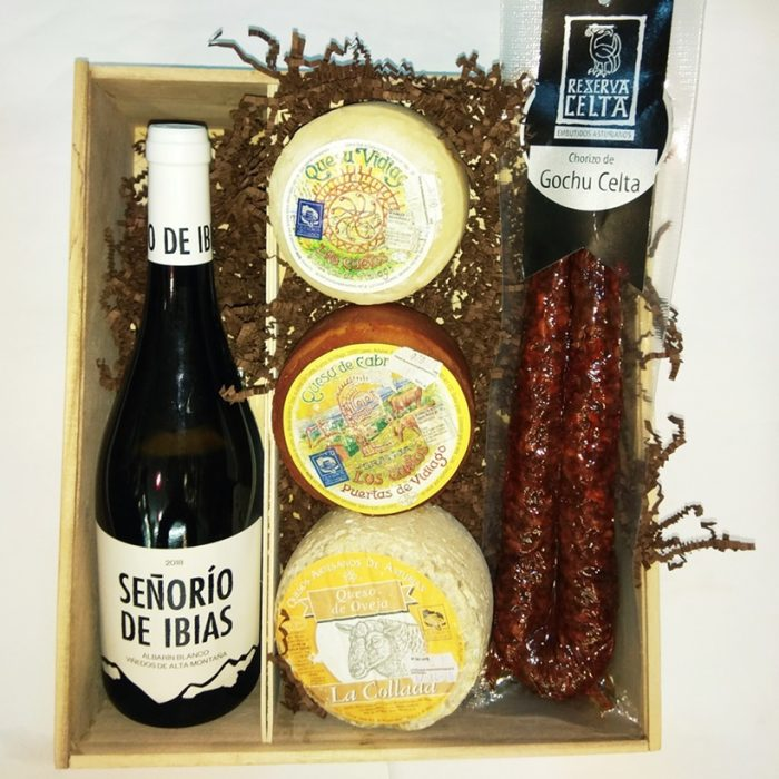 Caja productos asturianos