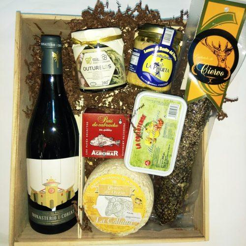 Caja regalo asturiana