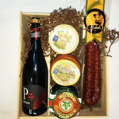 Caja gourmet asturiana Torrecerredo