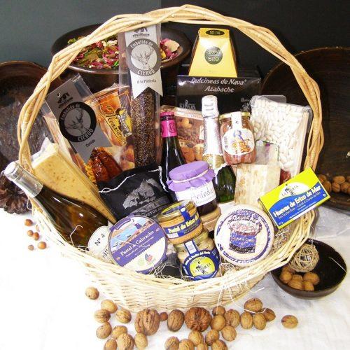 Productos asturianos de Navidad